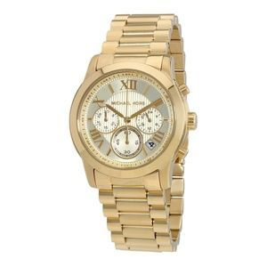 Gold Cooper Chronograph Dial Ladies Watch Mk6274